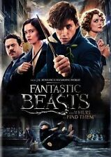 Fantastic Beasts and Where to Find Them ( 2016) |PG-13|DVD Format| Single Disc
