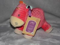 CHESTNUT RED HORSE SOFT TOY PONY COMFORTER DOUDOU CUDDLE LOVE TESCO