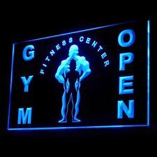 160036 Gym Fitness Center Open Equipment Display Led Light Sign