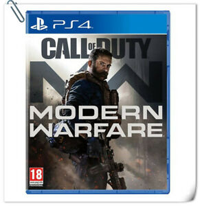 PS4 CALL OF DUTY: MODERN WARFARE Sony PlayStation Activision Shooting Games