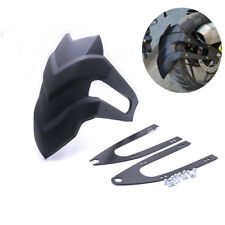 Black Plastic Race Motorcycle Rear Fender Faring Mudguard For Honda Kawasaki KTM