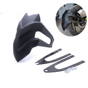 Black Plastic Race Motorcycle Rear Fender Faring Mudguard For Honda Kawasaki