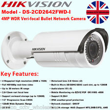 Hikvision DS-2CD2642FWD-I 4MP 2.8-12mm HD 1080P Onvif 30 m IR Cámara IP de alarma WDR