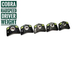 Golf weight for Cobra Radspeed driver 4g, 6g, 8g, 10g, 12g