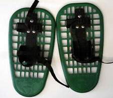 "LL Bean Adjustable Little Bear Grizzly Green 16"" Snow shoes Showshoes--Bear Cubs"