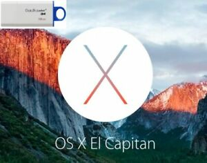 Mac OSX El Capitan 10.11 Bootable USB Operating System Install  Upgrade Repair