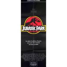 JURASSIC PARK Affiche de film  - 60x160 cm. - 1993 - Sam Neil, Steven Spielberg