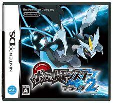 USED Nintendo DS Pokemon Black 2 game soft
