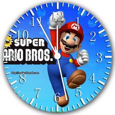 Super Mario Frameless Borderless Wall Clock Nice For Gifts or Decor Z135