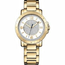 Original Tommy Hilfiger 1781623 Liv Women's Watch Colour: Gold/Crystal NEW