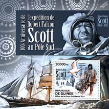 Captain ROBERT FALCON SCOTT of the Antarctic/Polar Explorer/S.Pole Stamp Sheet 2