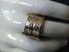 Breiter Damenring Rosegold bestehend aus zwei Eheringe/ Trauringe; JK 333 Gold
