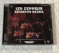 Led Zeppelin Arigatou Osaka Winston Remaster CD 3 Discs 20 Tracks Moonchild F/S