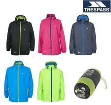 Trespass Qikpac Mac Packaway Waterproof Jacket Packable Mens/Womens Hooded Coat