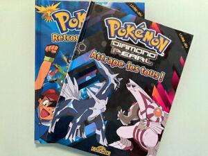 """Lot 2 livres jeu pokemon """"Retrouve les tous"""" / Type """"Où est Charlie ?"""""""