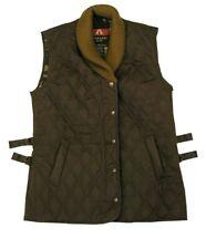 Kakadu Traders Australia Women's Oilskin Cape Jaffa Quilted Vest! Size M