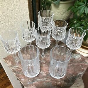 8 Cristal D'Arques-St. Germain 24% Lead Crystal Replacement Glasses