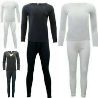 2pc set Mens Womens Merino Wool Top Pants Thermal Leggings Long Johns Underwear