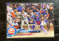 Taylor Davis RC 2018 Topps Update US229 Chicago Cubs