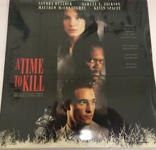 A Time to Kill (Laserdisc, 1996)  New in factory seal