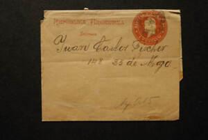 Republica Argentina 1c impresos  * used 19th century wrapper