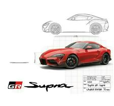 MULTIPLE SIZES CAR Posters TOYOTA 2000 GT CUTAWAY POSTER #1