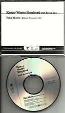 KENNY WAYNE SHEPHERD Tina Marie RARE PROMO USA Radio DJ CD Single PROCD101957
