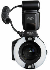 JY-670N i-TTL Macro Ring Light Flash for Nikon D5300 D7100 D3200 D610 D800 D810
