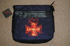 Slayer Cruz De Impresión Negro Messenger Bag BNWT Oficial Infierno espera Sur Del Cielo