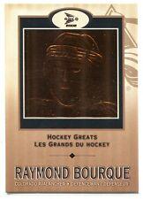 2001-02 McDonald's Pacific Hockey Greats 1 Ray Bourque