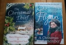 two christmas paperbacks by katie flynn & mary & corol higgins clark
