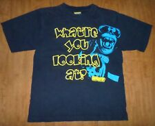 Riot Squad youth med T shirt What're You Looking At tee Obey skateboarding