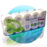 10 Rollen Toilettenpapier Klopapier WC-Papier 2 lagig supersoft 200 Blatt