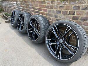 VW 19 Inch Santiago style Wheels Golf GTI  / Caddy, Set Of Four, Mint Condition