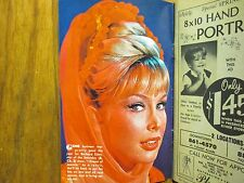 1966 Cleveland Press TV Mag(I DREAM OF JEANNIE/BARBARA  EDEN/THE LENNON  SISTERS