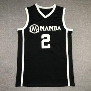New Gianna Bryant GiGi Mamba Black and White Basketball Jerseys Stitched