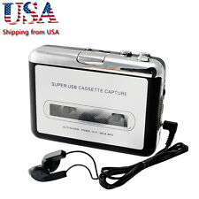 【USA】 USB Cassette Tape to MP3 iPod CD Converter Capture Audio Music Player New