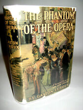 PHANTOM OF THE OPERA Gaston Leroux PHOTOPLAY 1st Edition Silent Horror 1925 Film