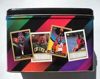 1990-91 Skybox Basketball Commemorative Tin Set (300 Cards) Series 1