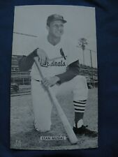 J.D. McCarthy postcard Stan Musial Cardinals post cards baseball