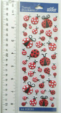 Sticko Brand LADYBUGS - Package of Puffy Multi Size Ladybug Stickers SO CUTE
