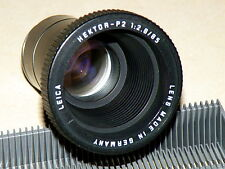 Objectif de projection Leica HECTOR-P2 2,8/85 mm Lentille made in Germany