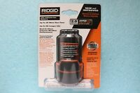 New Genuine OEM - Ridgid AC82049 12V - 2.0 Ah Compact Hyper Lithium Ion Battery