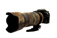 Sigma 50 500mm Non OS Neoprene lens protection & camo cover English Oak