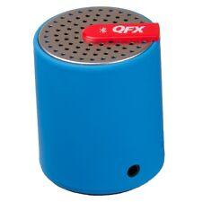 NEW QUANTUM FX Qfx Portable Bluetooth Speaker CS-27BT-BLUE