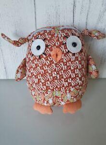 Jellycat London  Elsie owl EL6wL Soft Toy leaf print retired