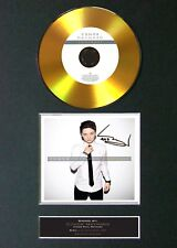 #97 CONOR MAYNARD Contrast GOLD CD Signed Autograph Mounted A4
