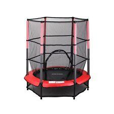 "4 5ft 55"" Trampoline With Enclosure Junior Safety Net Kids UV Resistant Mesh"