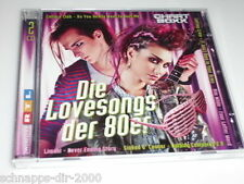 LOVESONGS DER 80ER 2 CD'S MIT MEL & KIM - BRYAN FERRY - KIM WILDE -AMERICA -UB40