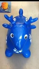 BLUE DEER  Crazy Animal Bouncer Space hooper Inflatable animal